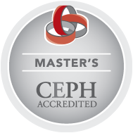 Master's CEPH Accredited Seal