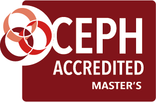 CEPH master's accredited seal